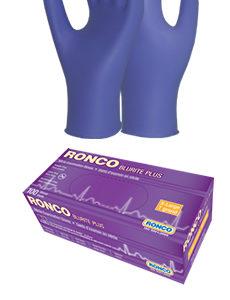 Ronco Blurite Plus Powder Free Gloves Medium