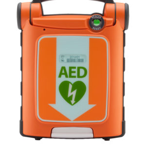 Powerheart G5 Semi-Automatic AED  with Adult Electrode Pad – Bilingual English/French