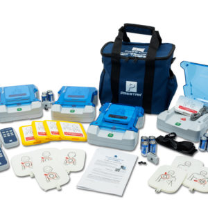 Prestan Professional AED Trainer 4-Pack Kit English /French
