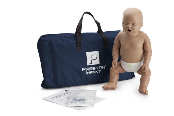 Prestan Infant CPR Training Manikin Dark Skin with Monitor