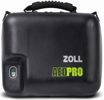 AED Pro Molded Vinyl Carry Case with Spare Battery Compartment