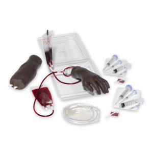 Portable IV Hand Arm Set Black